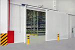 Фотогалерея с изображениями автоматических ворот, шлагбаумов, уравнительных платформ и дверей