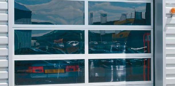 Панорамные ворота Кроуфорд серии 242
