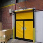 Ворота с калиткой серии М2 Emergency Exit