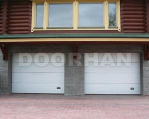 Автоматические секционные ворота Doorhan
